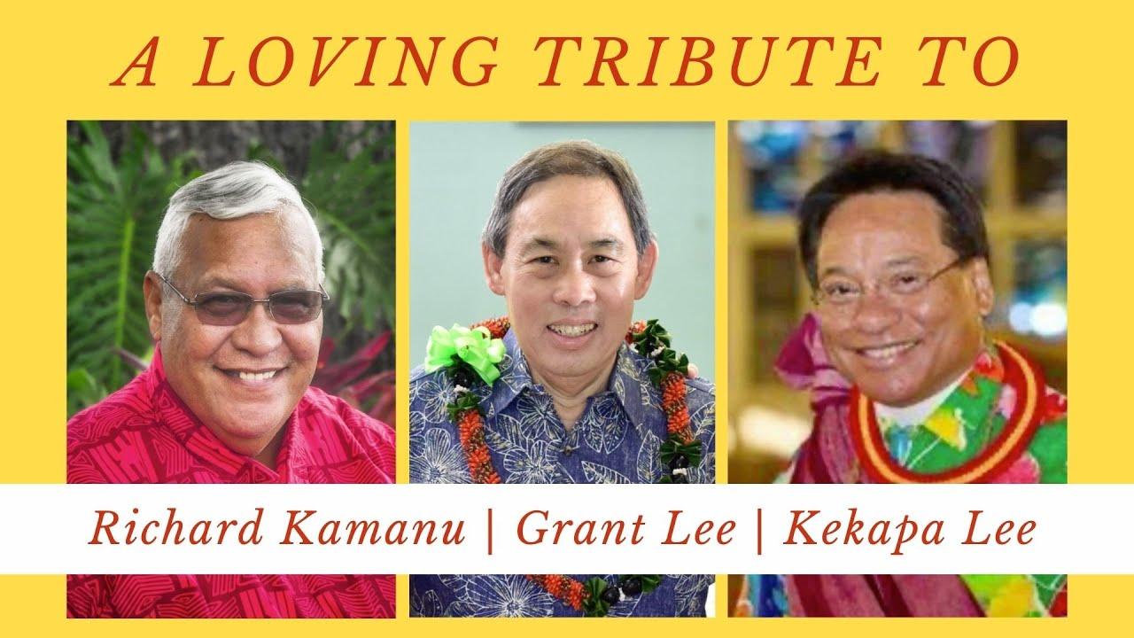 O'ahu Association shares loving tribute to Richard Kamanu, Grant Lee, and Kekapa Lee