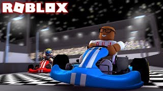 *ALL NEW* GO KART RACING IN ROBLOX (Roblox Go Kart Tycoon)