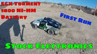 Video Horizon Hobby ECX Torment 2WD First Run - 1800 Ni-HM Battery - Stock Electronics download MP3, 3GP, MP4, WEBM, AVI, FLV Januari 2018