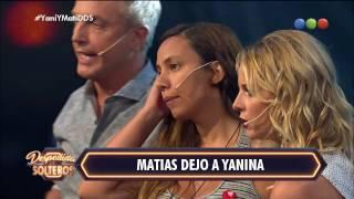 Yanina y Matías expulsados - Despedida de Solteros