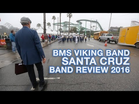 Benicia Middle School Viking Band 2016 - Santa Cruz