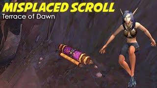 Misplaced Scroll - Terrace of Dawn