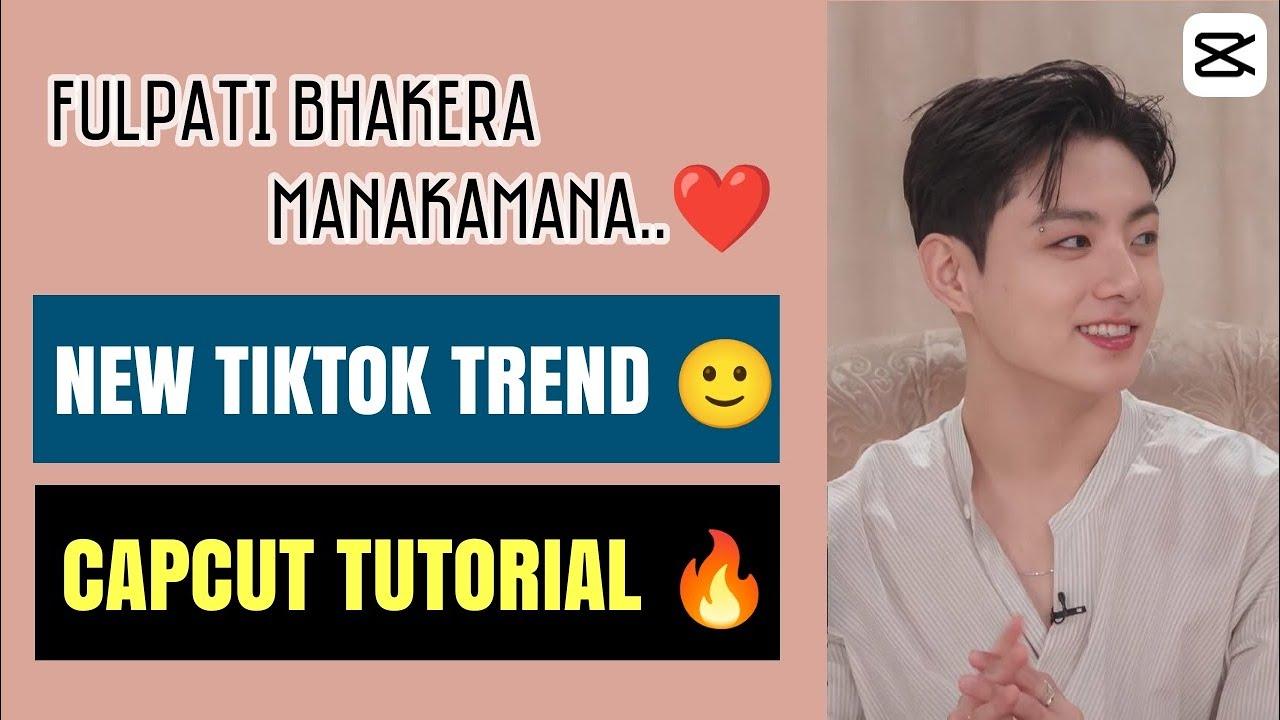 Capcut Video Editing || Tiktok New Trend 🙂 || Fulpati Bhakera Manakamana Song Beat ❤️