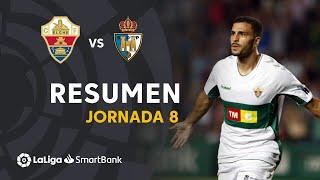 Resumen Elche CF vs SD Ponferradina (1-0)