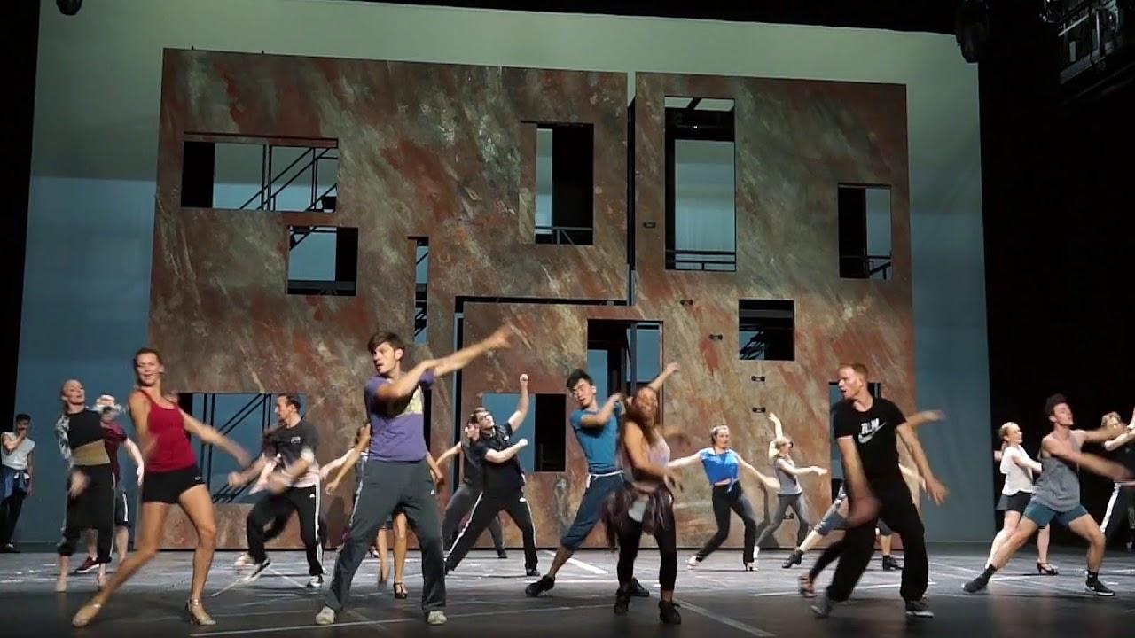 West Side Story Probenausschnitte Staatsoper Hannover Youtube