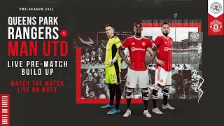 Manchester United v QPR | LIVE MUTV pre-match build up | Sat 14:00 (BST)
