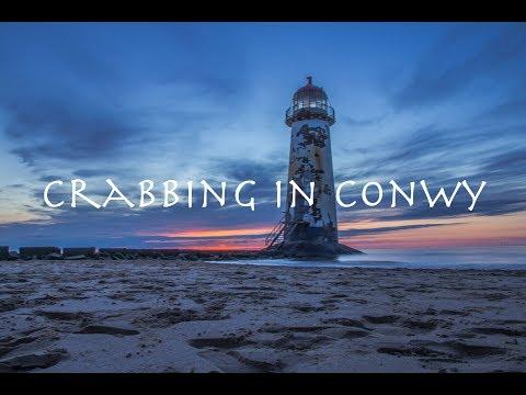 Crabbing in Conwy