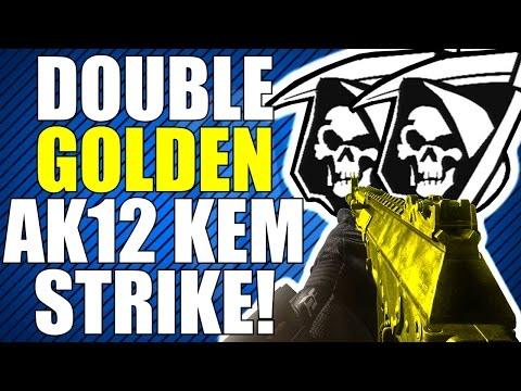 COD Ghosts: Double Golden AK12 KEM Strike! (KEM Strike Saturday Series Finale)
