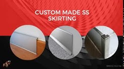Stainless Steel Corner Guards Protectors For Skirting, Wall Edge & Kitchen Platforms