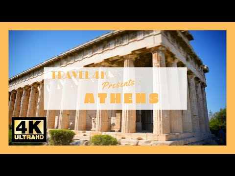 TRAVEL 4K presents : Week end in  Athens in 4k Ultra HD