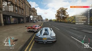 Forza Horizon 4 - Koenigsegg CCX is Somewhat Drivable in S1-Class [Ranked Adventure]