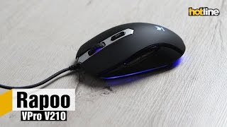 Rapoo VPro V210 — обзор игровой мыши