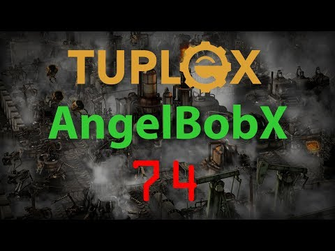 Factorio AngelBobX Let's Play #74 - Nuclear power setup - Tuplex