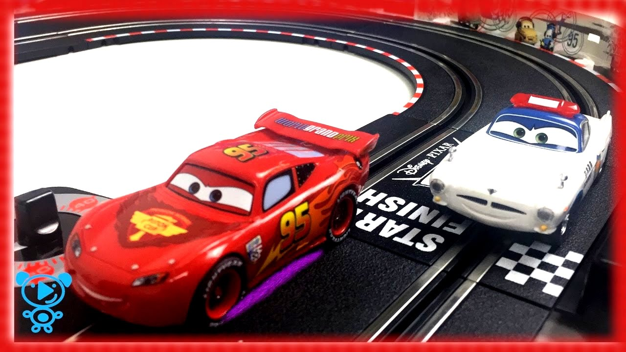 Toy Cars Toys R Us Cars For Children Carrera Go Mcqueen On Race Track Sport