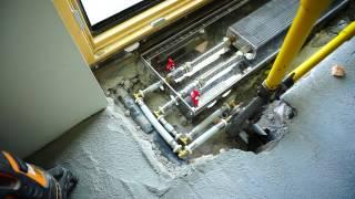 видео конвекторы отопления внутрипольные