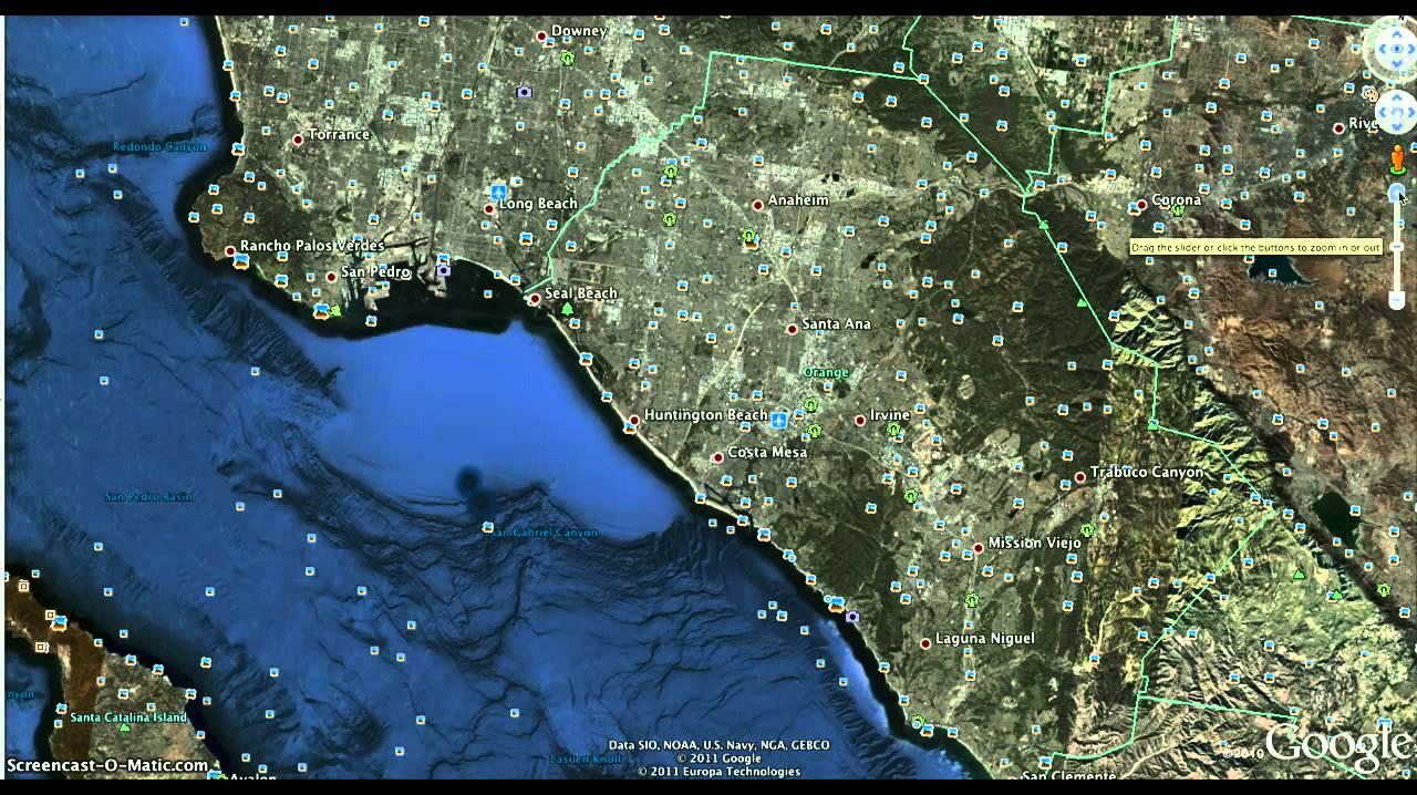 Secrets in Seal Beach Waters?