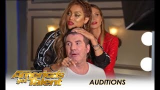 Tyra Banks AWESOME Intro To AGT Final Audition Week | America's Got Talent 2018