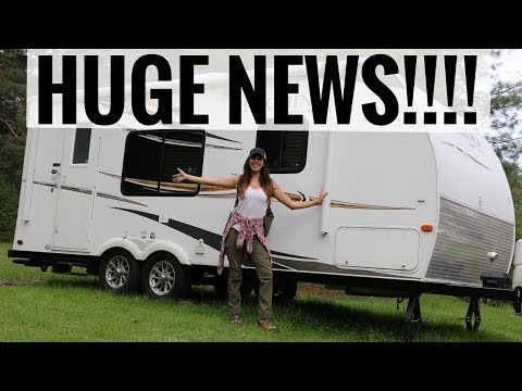 BIG NEWS!!!!! | Life on the Road
