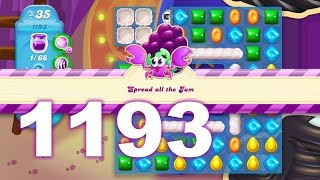 Candy Crush Soda Saga Level 1193 (No boosters)