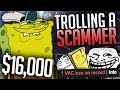 Trolling the WORST CS:GO Scammer... ($16,000)