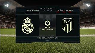 FIFA 18 | Legendary | Friendly | Real Madrid v Atlético Madrid | King Abdullah Sports City