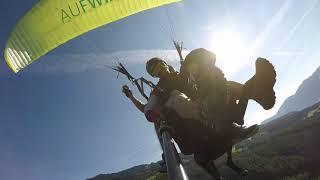 Paradog - Paragliding Tridem With a Dog