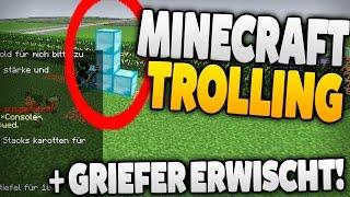 minecraft trolling komplett uncut griefer erwischt
