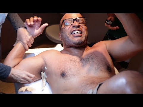 Family Vacation - Big Al Gets His Armpit Waxed!