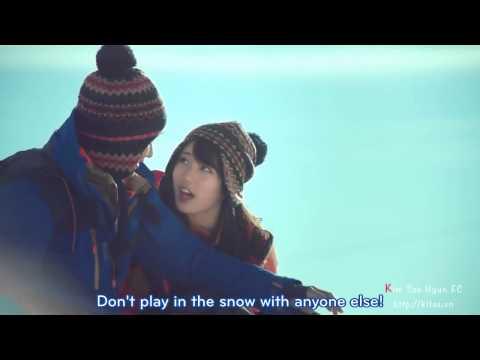 [Engsub] Kim Soo Hyun & Miss A Suzy | Bean Pole CF 2012 - Winter version 15s