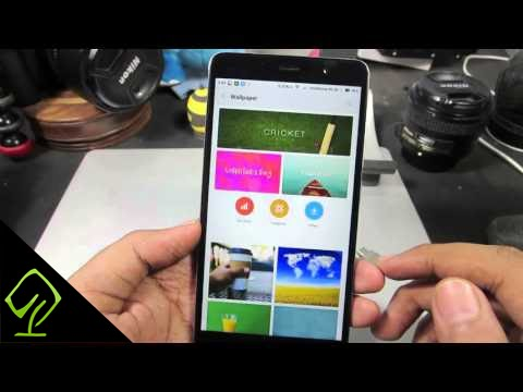 How To Change Lock Screen Wallpaper In Mi Phone Redmi 4 Note 4 Youtube