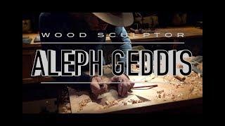 I met wood sculptor Geddis Seattle Orcas Nov.2016 アレフ・ゲッディス 木彫り彫刻アーチスト シアトル : movie by my iPhone