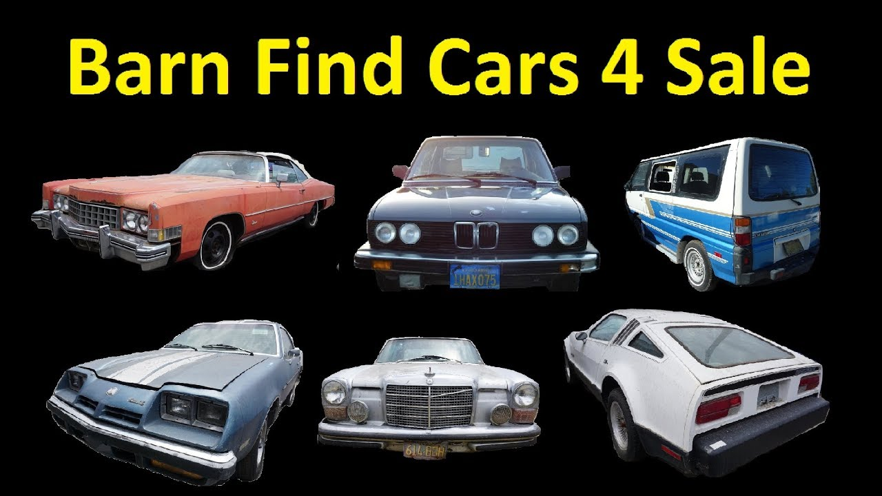 Buy Barn Find Classic Cars ~ Project Car Clearance For Sale $250 to ...
