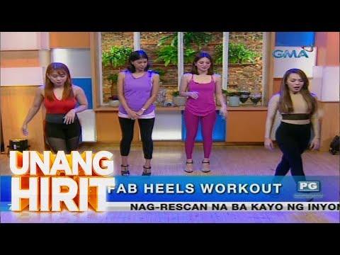 Unang Hirit: High heels workout, subukan!
