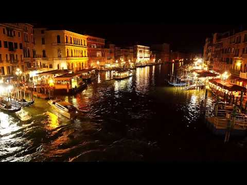 Venice by night, Grand Canal, Italy 2014