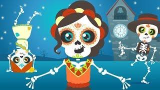 Los esqueletos | Chumbala Cachumbala | Las calaveras | Canción del Día de Muertos thumbnail