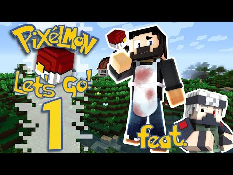Pixelmon: Let's Go! - EP01 - Teaching The Basics (Minecraft Pokemon)