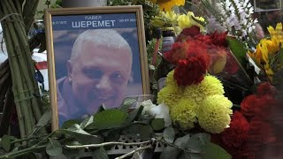 Ukraine marks two years since reporter