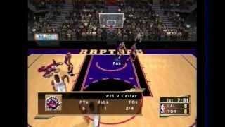 NBA 2K2 Sega Dreamcast Gameplay