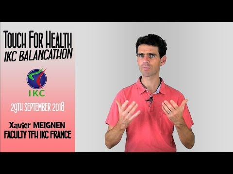 Xavier Meignen and the Touch for Health IKC Balancathon
