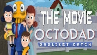 Octodad Dadliest Catch - All Cutscenes (Game Movie)