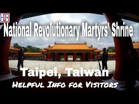 Taipei   National Revolutionary Martyrs' Shrine   Travel Guide   Episode# 6
