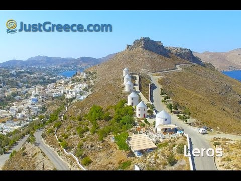 Aerial video Leros island - JustGreece.com