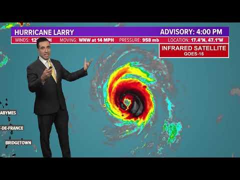 警告!危险!拉里飓风攻击更凶猛 将横扫美国加拿大!(视频)
