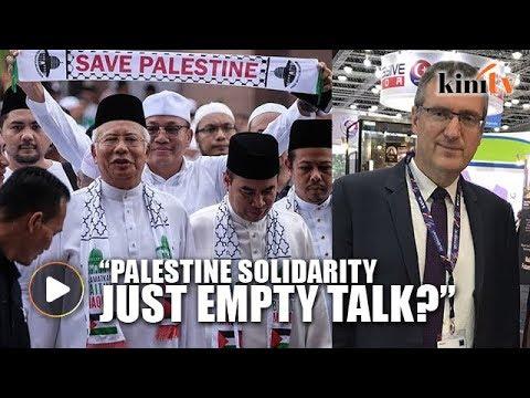 'Palestine solidarity now just empty talk'