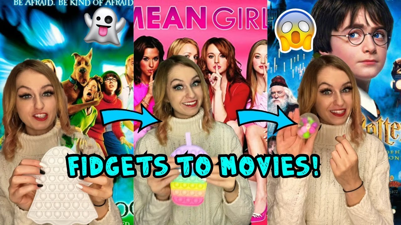 Matching my FIDGETS to Popular MOVIES!!😱🎥🍿*SO COOL!!* #Shorts