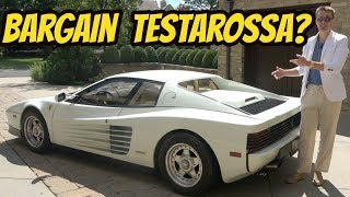 I Bought the Cheapest Ferrari Testarossa in the USA