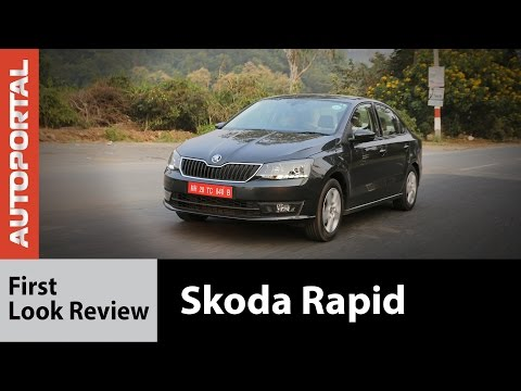 New Skoda Rapid First Look Review - Autoportal