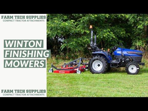 WFM Winton Finishing Mowers - Farm Tech Supplies Ltd - YouTube