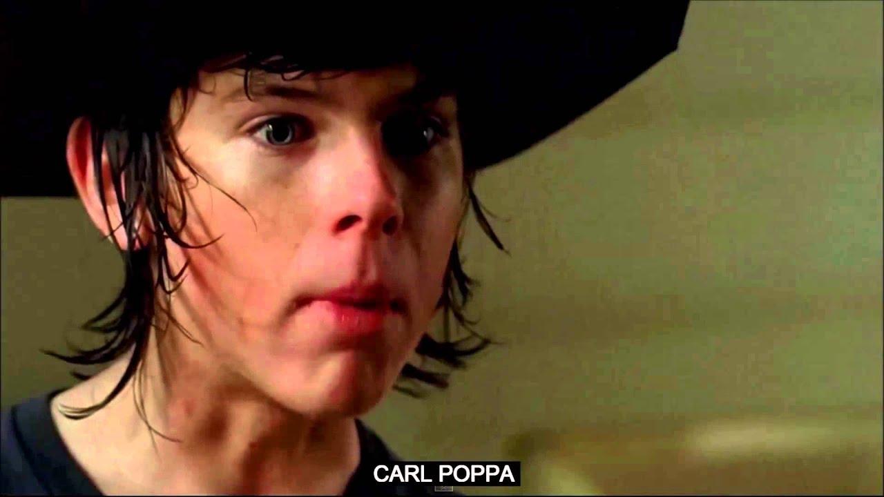 Carl poppa the walking dead carl grimes rap song with lyric