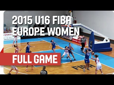 Russia v Italy - Group E - Full Game - 2015 U16 European Cha